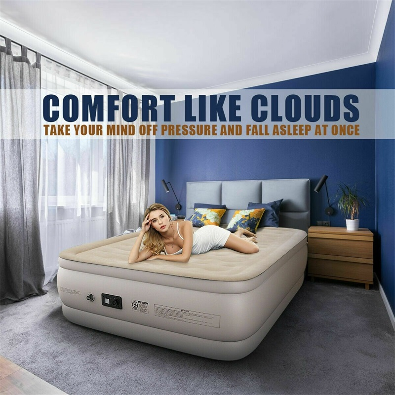 Luxury Quilt Top Raised Airbed