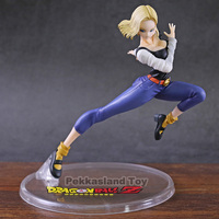 Anime Dragon Ball Z Gals Android NO.18 Lazuli 20CM Battle Ver.IV Sexy PVC Action Figure Collectible Model Toys Doll Gift