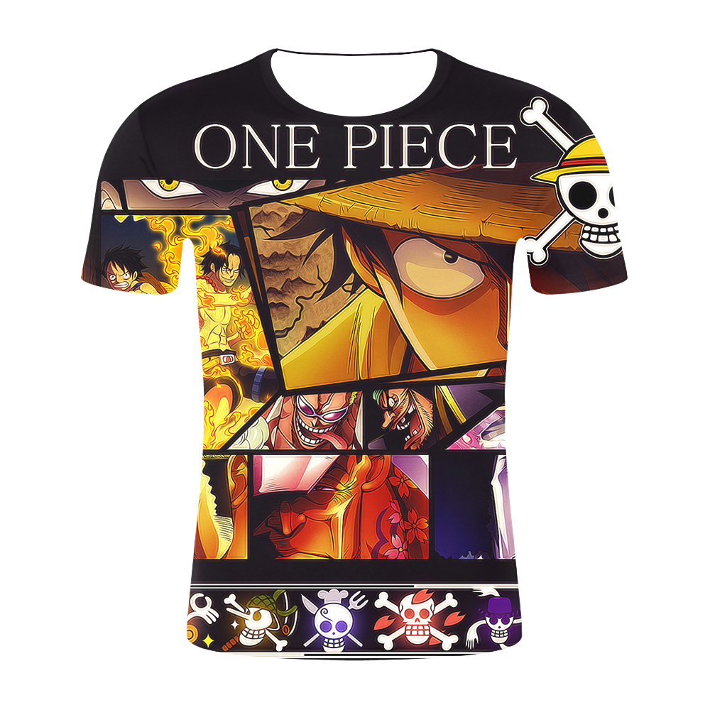 c73ff777 2019 newest Listed Men Anime 3D T Shirt Cartoon One Piece Print T-shirt  Homme Clothing Harajuku Luffy Team Camisetas Hombre