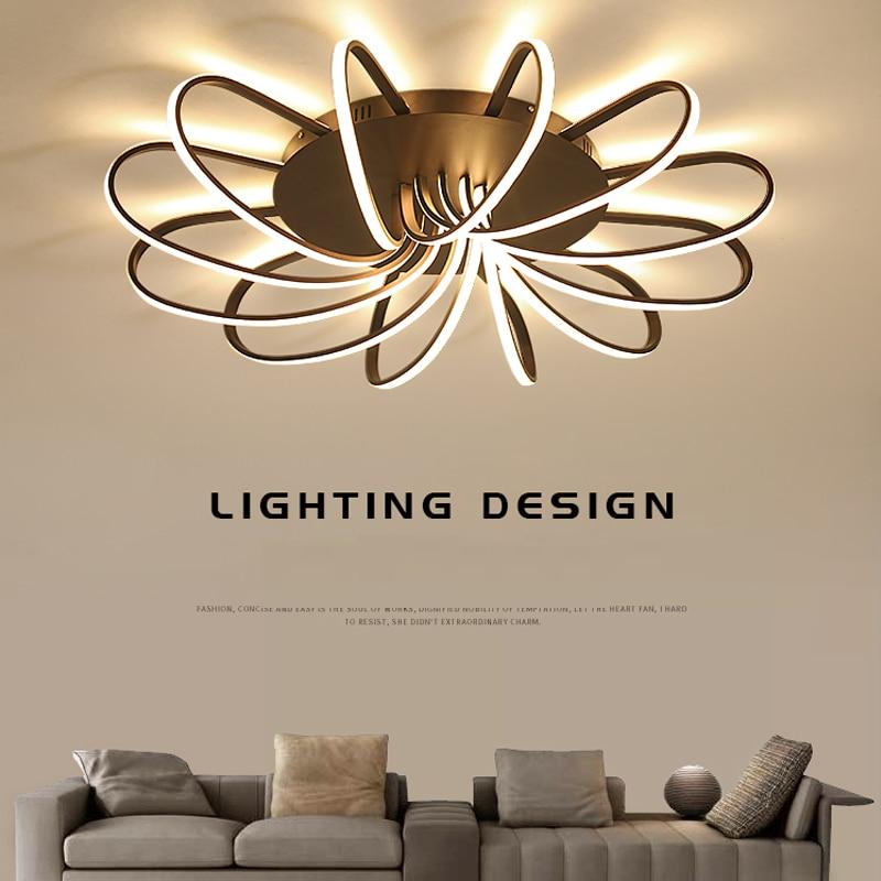 Modern LED Chandelier light for living room bedroom dining Study room Aluminum led Chandelier lamp fixtures high brightness New цена