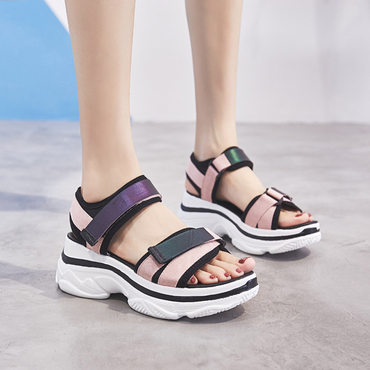 Sandals Woman Sponge Comfortable StudentSandals Woman Sponge Comfortable Student