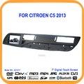 C5 Carro DVD Player Navegação GPS Bluetooth RDS Rádio FM/TF/Slot USB player De Vídeo tela sensível ao toque Para Citroen C5 2013