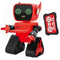 Cute RC Intelligent Robot Toy Voice Activated Interactive Recording Sing Dance Storytelling RC Robot Toy Kids Gift Green
