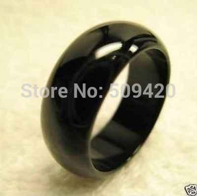 XFS2014102>>เย็นสีดำหยกโมราธรรมชาตินิลวงแหวน