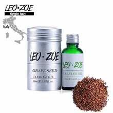 Famous Brand LEOZOE Grape seed oil Certificate of origin Italy Grape seed essential oil