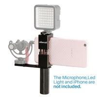 Ulanzi Smartphone Filmmaker Video Rig Metal Phone Tripod Mount Hot Shoe Hand Grip Holder Microphone Plate Live stream Youtube