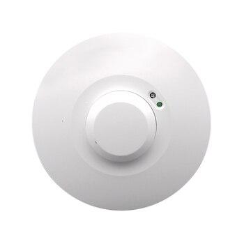 110V-240V 5.8GHz HF System LED Microwave 360 Degree Radar motion Sensor Light Switch Ceiling light Body Motion Detector