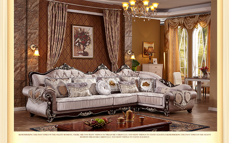 Living Room European Style Sofa New Classics French Sofa