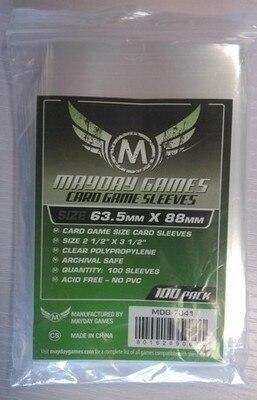 5 упаковок/лот Mayday карточная игра рукав для 63,5*88 мм для MTG магия сбор карты протектор чехол-рукав для настольной игры 7041