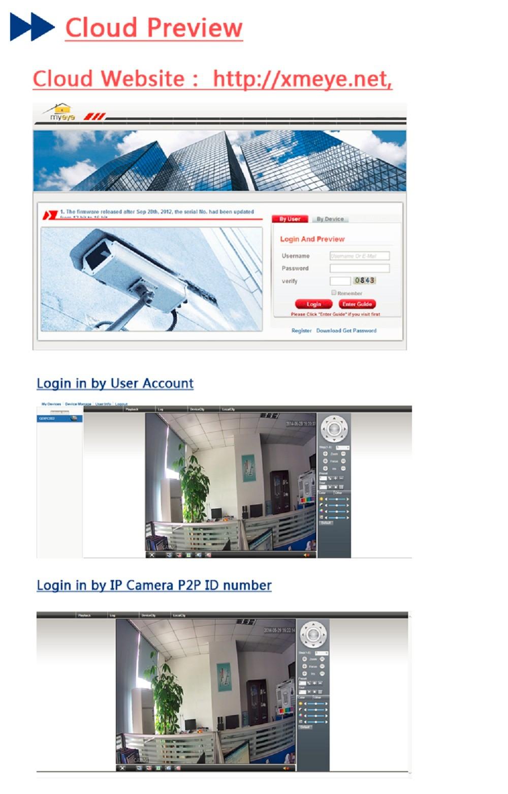 ESCAM Snail QD500 Waterproof Dome IP Camera CCTV 14 Inch 1MP CMOS 720P (16)