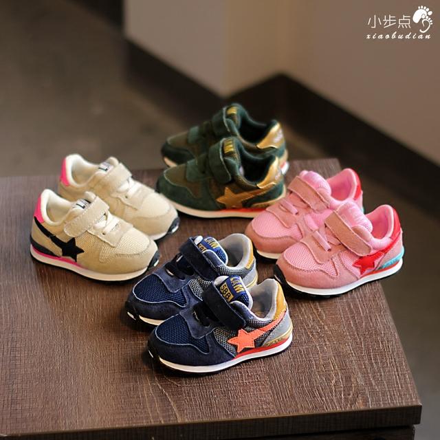 Primavera 2017 1-3 años de edad para niños ocio deportes shoes niños shoes baby toddler shoes running shoes