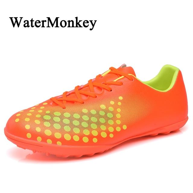 1dada2fa6a0fb Nueva moda adultos corte duro uñas rotas zapatos de fútbol TF zapatos  transpirables para hombres zapatillas