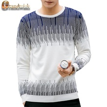 2017 neue männer Pullover Strick Slim Fit Männer Pullover Patchwork Korean Oansatz Pullover Männer Pullover Plus Größe 5XL, PA564