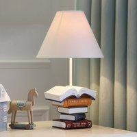 Творческий учебные книги форма настольные лампы для детей Спальня Гостиная Офис дети Чтение Свет домашний декор Led ночники