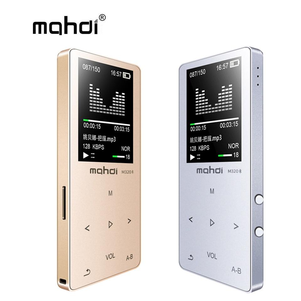 Mp4 Player Mahdi Mp4 Player Bluetooth Kapazitive Touch Eingebaute Lautsprecher Mp 4 Player 1,8 sprachen Unterstützung Aufnahme E-book Tf Fm Armband Ein BrüLlender Handel Unterhaltungselektronik