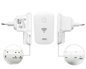 Image 3 - Kuwfi 300 150mbps の 2.4 ghz 無線 lan ワイヤレス · リピータ無線 lan レンジエクステンダーの無線 lan ルータのサポート wps ap モードブースト既存ネットワーク範囲
