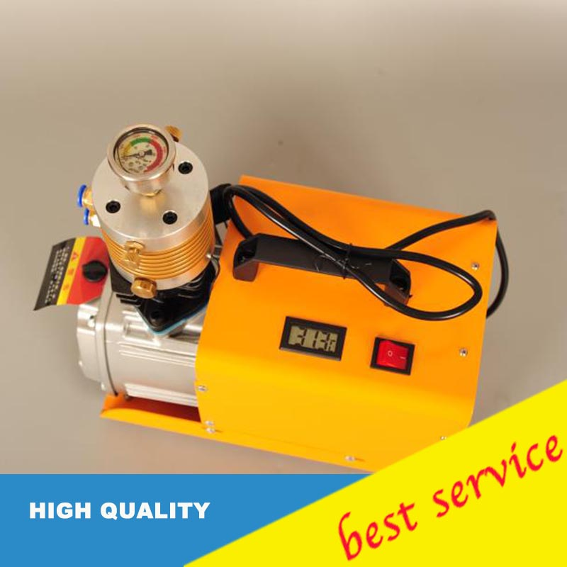 set pressure High Pressure Air Pump 30Mpa Electric PCP Compressor Pump 220V 300bar+ air compressor oil water separator oil water oil free air compressor high pressure gas pump spray woodworking air compressor small pump 550w9l