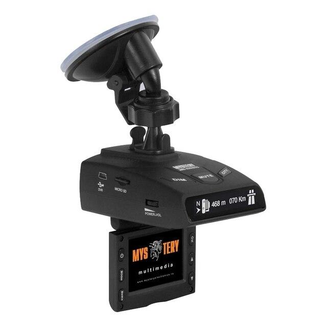 """Видеорегистратор-радар MYSTERY MRD-935HDVSG(2""""дисплей, максимальное разрешение камеры: видео 1920x1080, Обнаружение сигналов радаров в диапазонах X/UltraX, K/UltraK, Ka, Обнаружение радаров Стрелка-СТ/М. Отключен"""