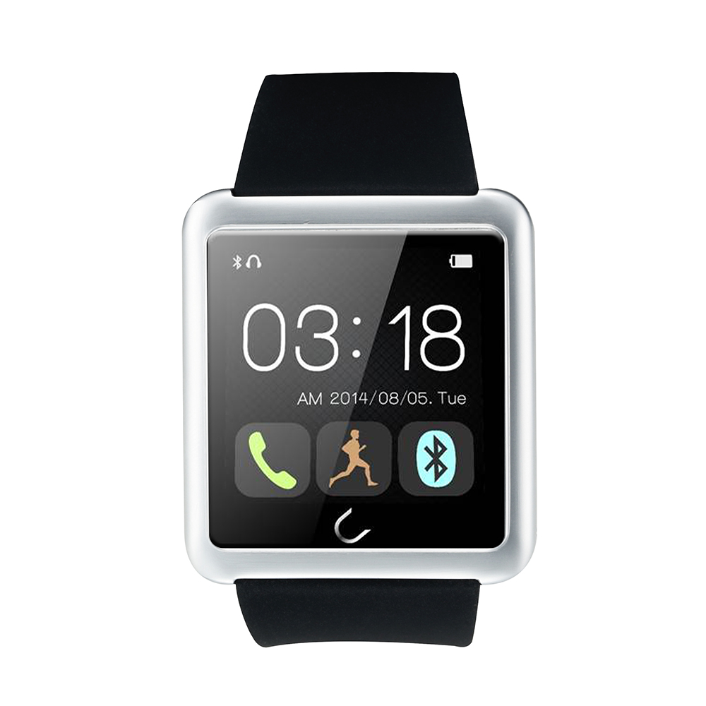 Pedometer Bluetooth Smart Watch forIOS Android font b Smartwatch b font HDTouch Screen SMS Call Sync