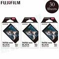 Fujifilm Instax Mini 8 9 пленка черная рамка Fuji моментальная фотобумага 30 листов для 70 7s 50s 50i 90 25 Share SP-1 2 камеры