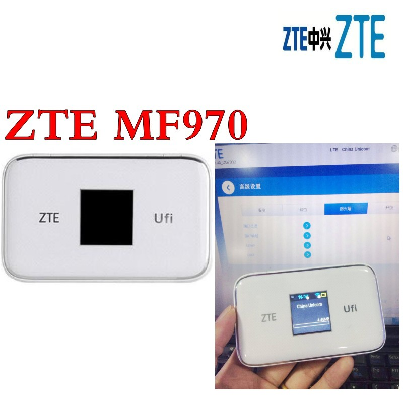 unlocked ZTE UFi MF970 LTE pocket 300mbps 4g dongle Mobile Hotspot 4g Cat6 Mobile WiFi router pk mf910 mf95 mf971 mf910 patrizia pepe мини юбка