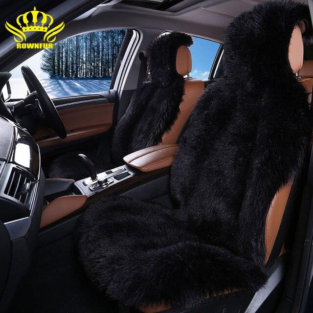 Tremendous Us 77 5 2 Pcs High Quality Faux Fur Front Car Seat Covers For Car Seats Auto Covers Universal Fit Most Cars Seat Interior Accessories In Automobiles Inzonedesignstudio Interior Chair Design Inzonedesignstudiocom