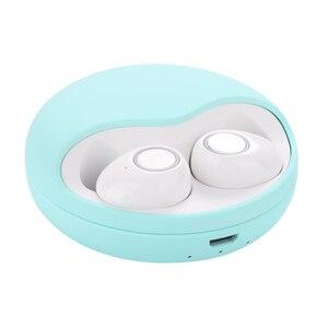 Image 5 - Bezprzewodowe słuchawki Bluetooth 5.0 TWS dźwięk radia 3D słuchawki douszne Auto Connect bezprzewodowy telefon Mini słuchawki basowe