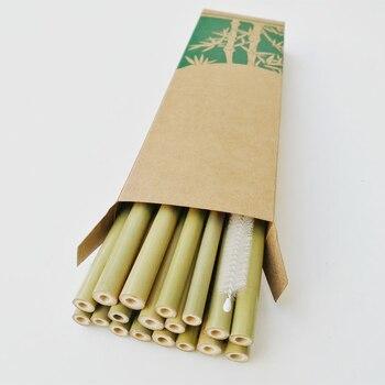 Indonézia egzotikus erdőiből származó magas minőségű bambusz szívószálak