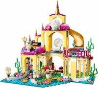 bela10436 JG306 Ariel's Undersea Palace Building Bricks Blocks Toys Girl Game House Gift Compatible with blocks Princess mermaid