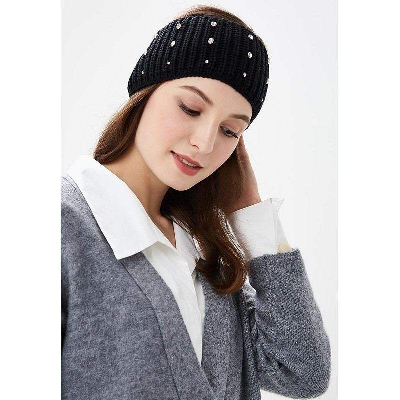 Headwear MODIS M182A00260 Headband Bandana Head Bandage Hair Accessorie hat for female for woman TmallFS han edition of the new hair headwear pearl diamond hair hoop winding head band