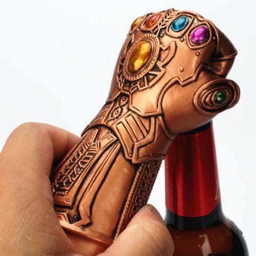 Creative Thanos Infinity Gauntlet Glove Bottle Opener Beer Cap Beer Opener HOT F
