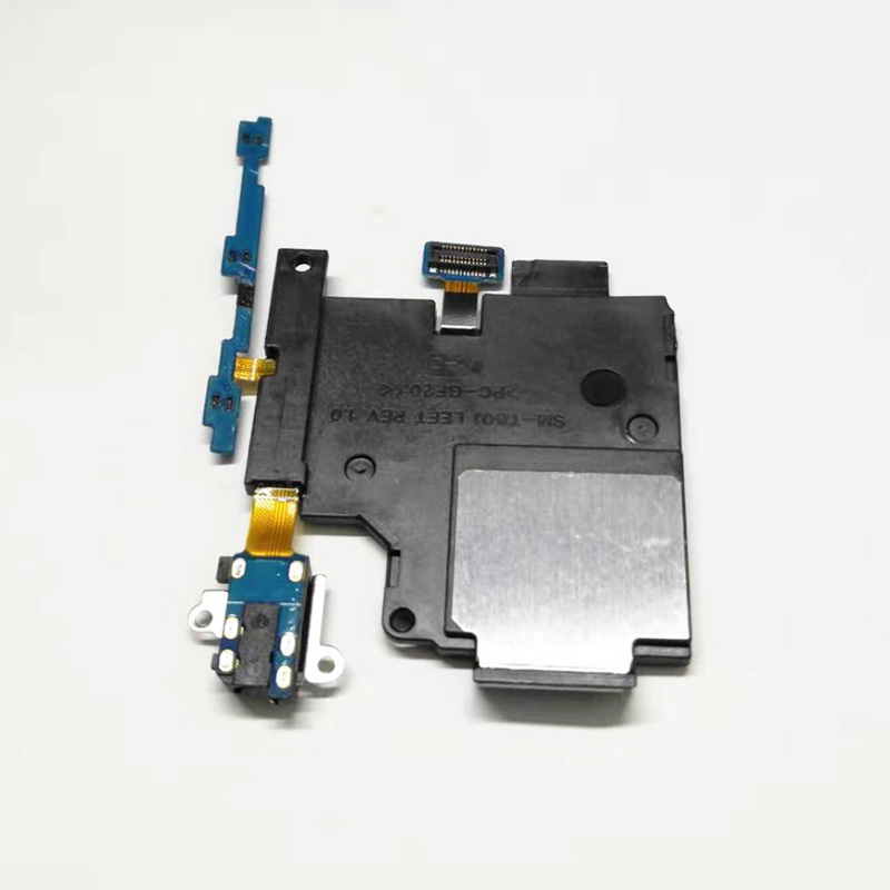 For Samsung T800 T801 T805 Power Button Switch Volume Button On/Off Ringer Buzzer Loud Speaker Headphone Audio Jack Flex Cable
