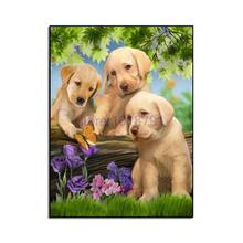 diy diamond painting animal cross stitch crystal square sets unfinished decorative Diamond embroidery Dog
