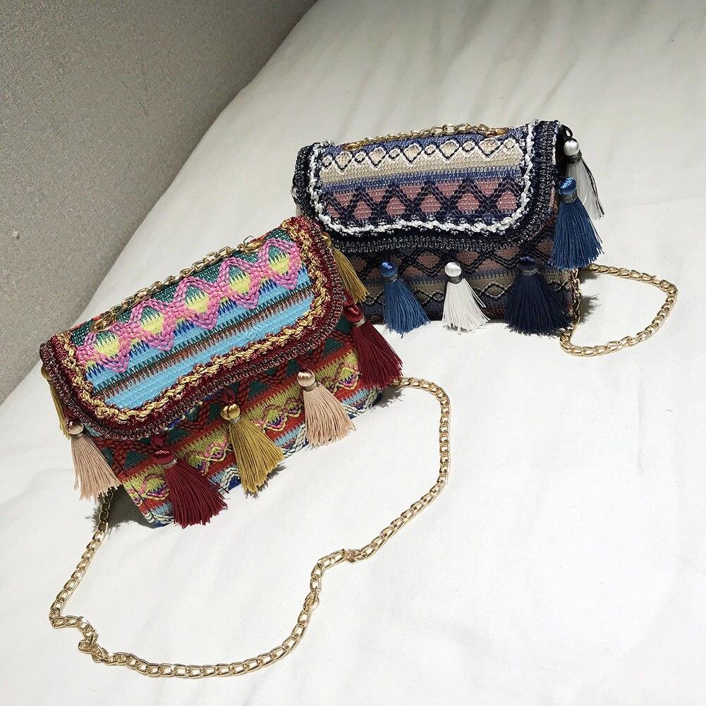 Boho Shoulder Bags High Quality Women Handbag Fashion Women Shoulder Bags Travel Beach Crossbody Bag 2018 new fashion high quality world map dotor women bag bags shoulder bags dollar price