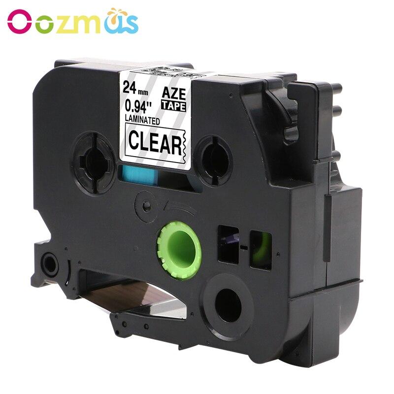 Compatible Brother P-Touch Laminated Tze Tz Label Tape 24mm  PT7600 PT9600