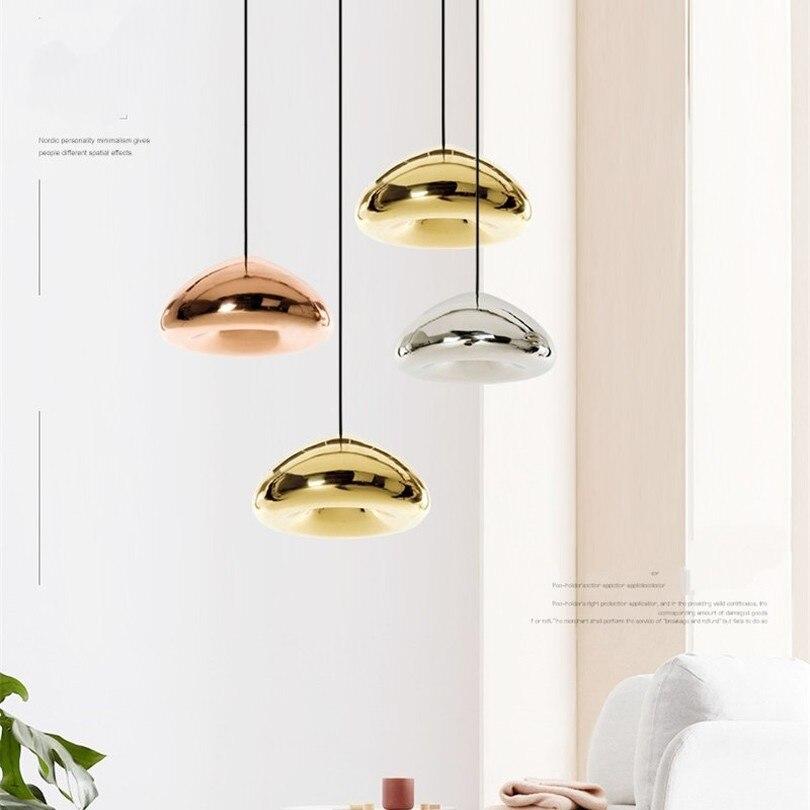 Nordic Glass Hanging Lamp Modern Pendant Lights For Bedroom Living Room Kitchen E27 Luminaire Lighting Fixture Home Decor