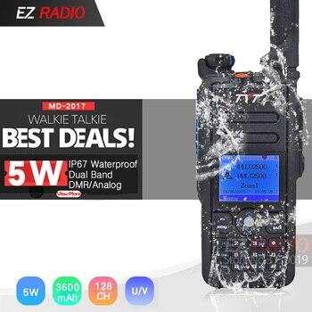 The Best Waterproof IP67 DMR Radio Dual Band TYT MD-2017 DMR Walkie Talkie GPS Better Than Baofeng DMR DM-8HX DM-5R DM-5R Plus фото