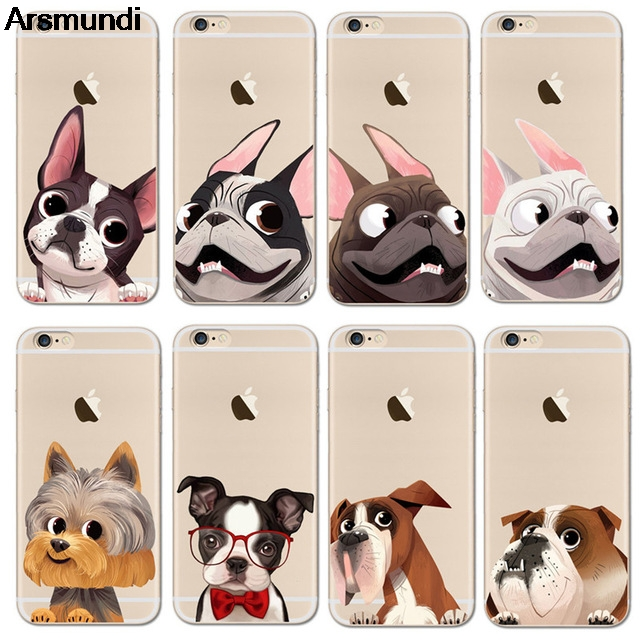 Arsmundi font b 2018 b font NEW Cute French Bulldog Phone Cases for font b iPhone