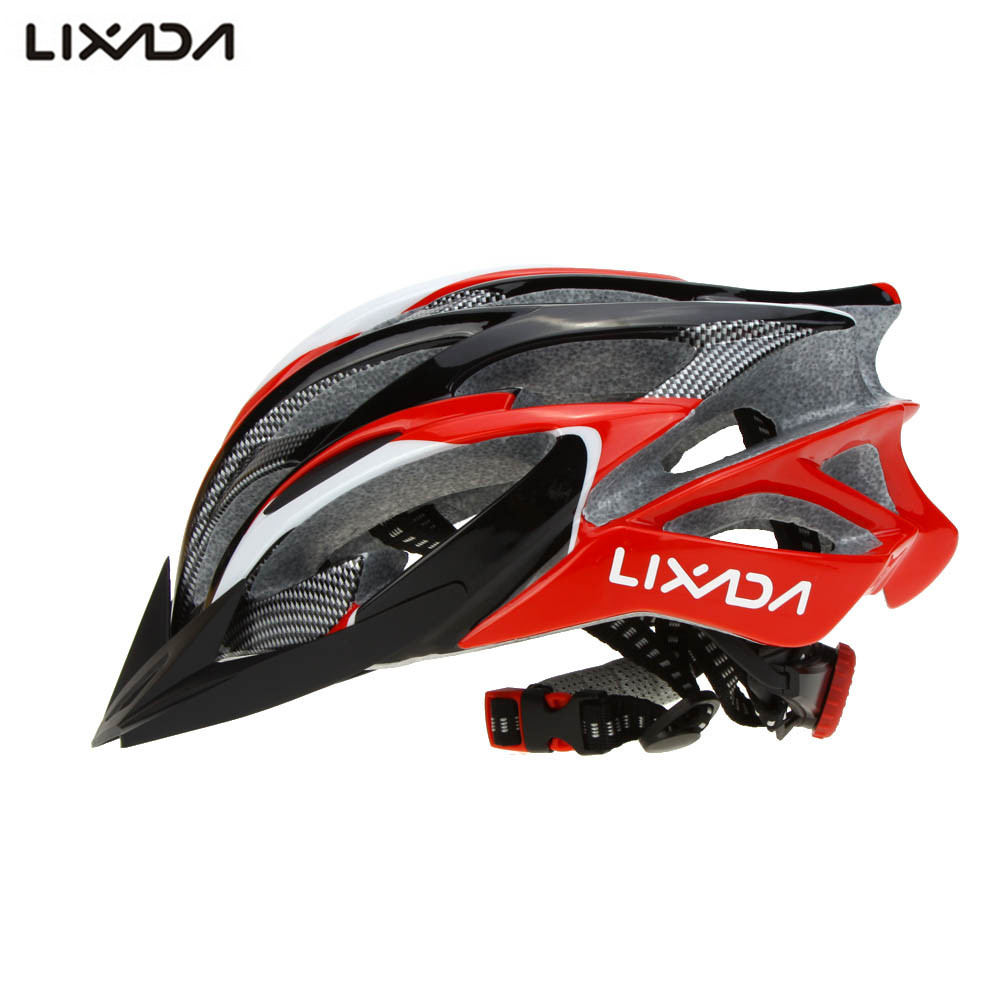 Lixada Bicycle Helmets Cycling Ultralight MTB Bike Racing Helmets For Men Women Bike Helmet 56~62cm Casco Ciclismo