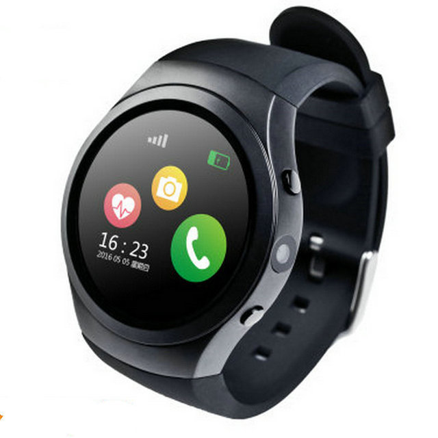 Multifunctional intelligent Bluetooth card alarm call camera recording music heart rate watch movement positioning footprint of