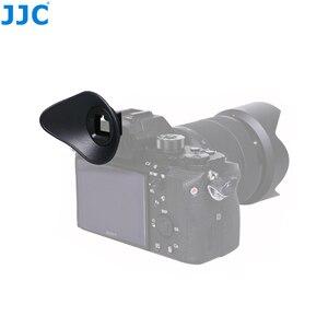 Image 3 - JJC FDA EP16 עיינית עבור Sony A7RIV A7RIII A7III A7II A7SII A7R A7S A7 A58 A99II A9II DSLR עינית מצלמה אבזרים עינית
