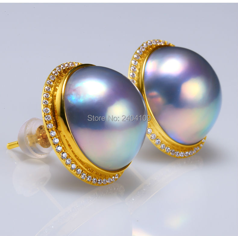 big pearl earrings 33