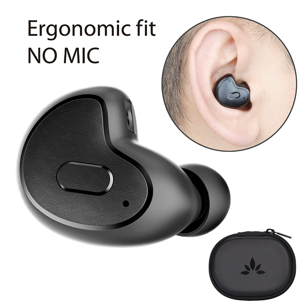 все цены на  Avantree Mini Bluetooth Earbud V4.1 with MIC Snugly Fit Wireless Smallest Invisible In-Ear for Podcast Audiobook GPS Music-Apico  онлайн