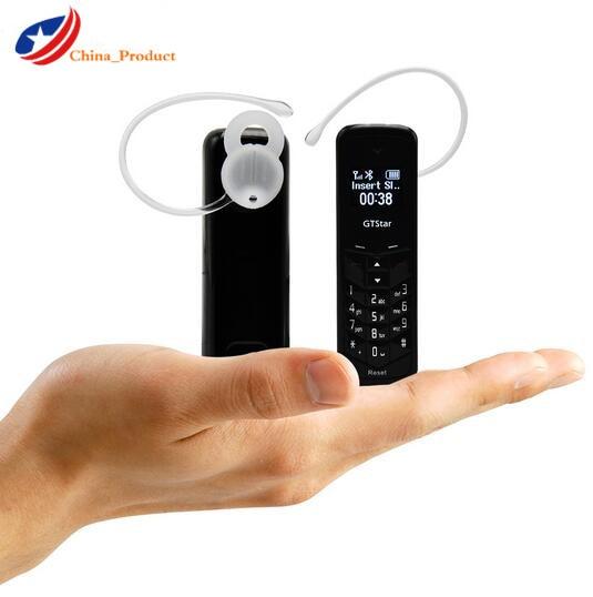 (24 Hours Shipping) GT Star Brand Mini Bluetooth Handset Phone BM50 0.66