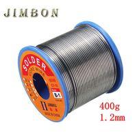 JimBon 400g 1 2mm Welding Wire 60 40 Rosin Core Solder 2 0 Percent Tin Lead