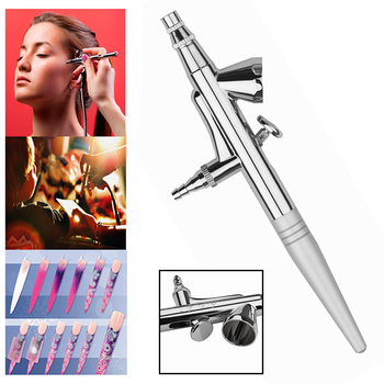 0.4mm Needle  Airbrush Makeup Spray Gun Body Paint  Brush Nail Painting Tattoo Cake Decoration Car Paint Dual Action Model Paint
