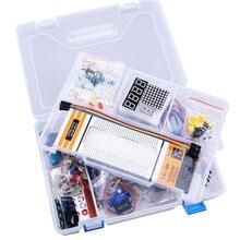 RFID Zestaw Startowy z Retail Box dla Arduino UNO R3 Ulepszona Wersja Learning Suite ULN2003 830 deska do krojenia chleba