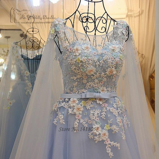 Robe mariage bleu ciel
