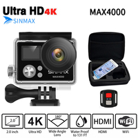 Ultra HD 4K Wifi OEM EKEN H9R Action Camera 1080P Extreme Cam With Remote Controller Diving