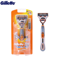 Gillette Electric Razor Fusion Power Electric Shaver Washable Shaving Machine Use 1AAA battery 1holder with 1 blades